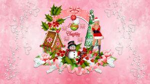 Fonds D'écrans Noël 5
