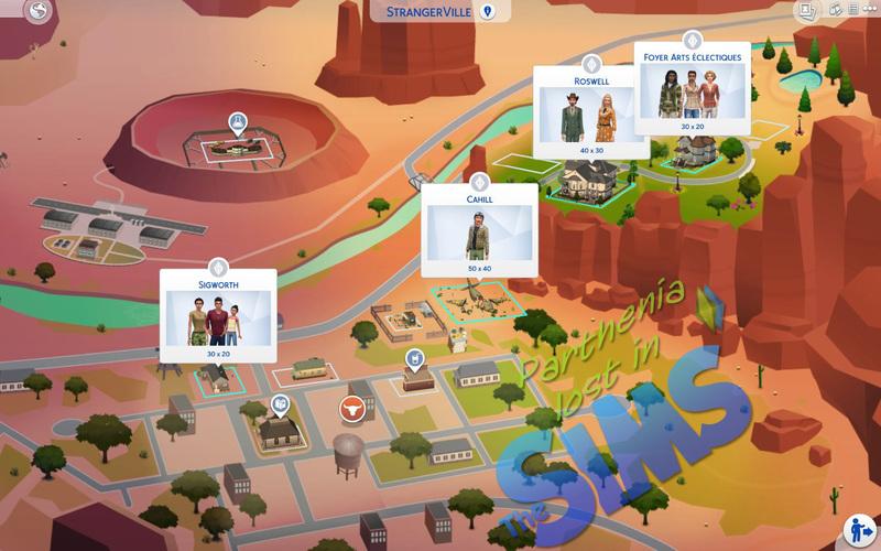 Sims 4 Strangerville : StrangerVille