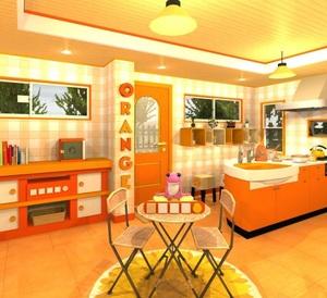 Jouer à Fruit kitchens 3 - Navel orange