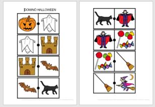 Halloween en pictogrammes Arasaac