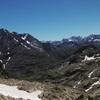 Arrivée au Cuello de Lavaza (2712 m), Vignemale et massif de Gavarnie Monte Perdido