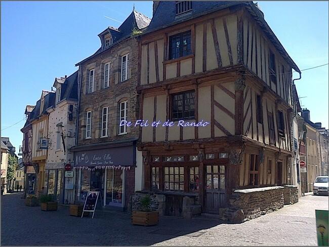 Le canal de Nantes à Brest : étape 4