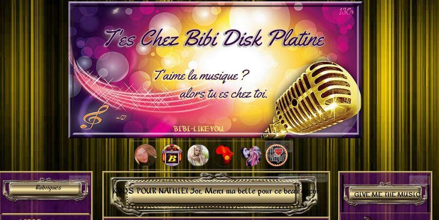 Bibi Disk Platine