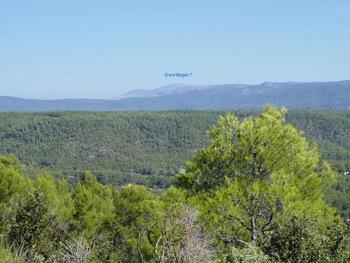 Panorama sur les sommets du haut Var