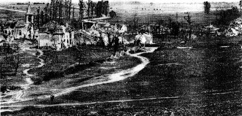 1916 : Bezonvaux dans la bataille de Verdun