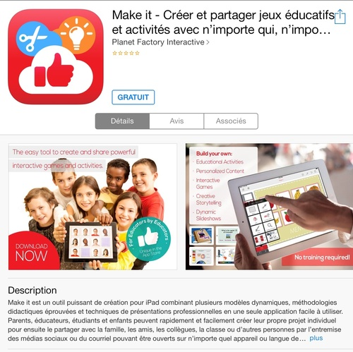 [appli gratuite] Make-it