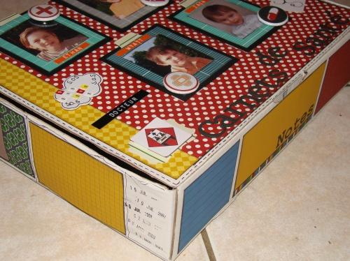 """Concours Scrap Box chez """"Dame de Kit""""."""