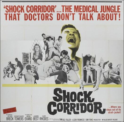 SHOCK CORRIDOR BOX OFFICE US 1963