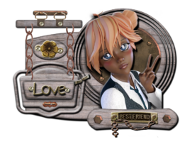 Tube; fille manga Chez Lamalle Magique par Jopel