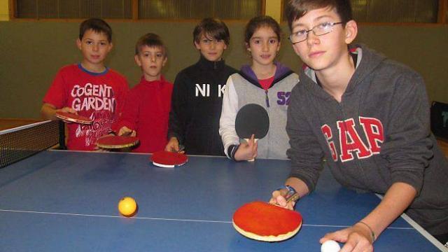 Victor Matrulot, au premier plan, en compagnie de jeunes recrues.
