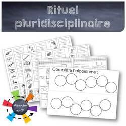 Supports de rituel quotidien pluridisciplinaire