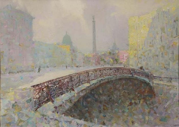 Le pont de chant  Auteur: Sergey Sidelev.