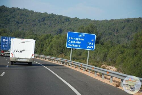 La traversée de l'Espagne