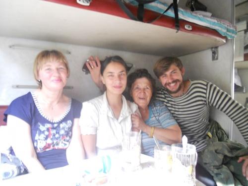 J6. 13 Septembre, départ du transsibérien