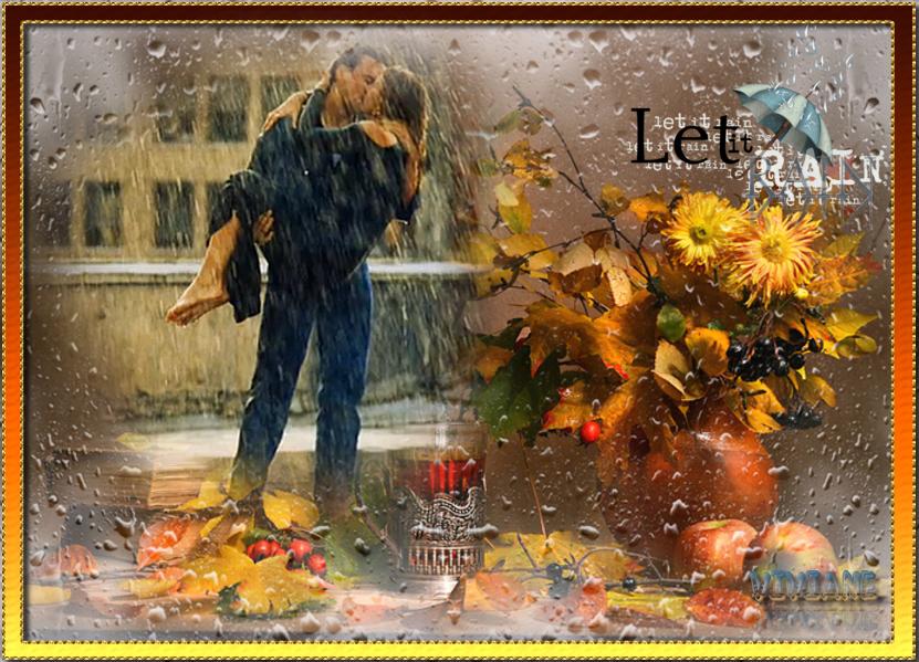 Laisses la pluie tomber