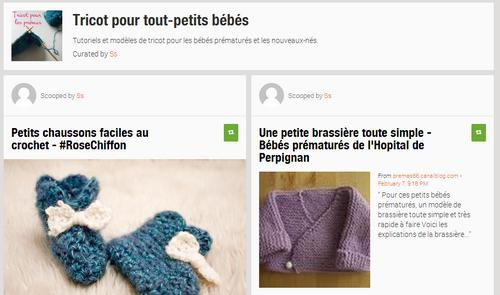 Petits bouts de laine : tricot & prématurité