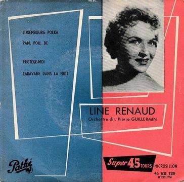 Line Renaud, 1955
