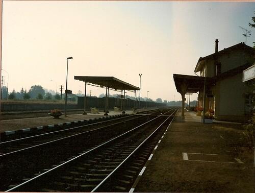 La gare en 1980