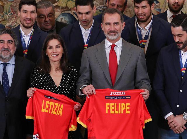 Felipe et Letizia