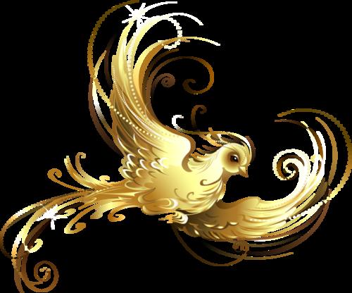 Gold decorative elements