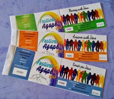 Festival Agape 2017 - Programme