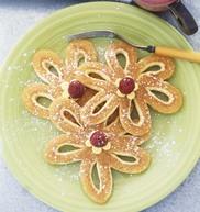 Photo de la recette : Jolies crêpes fleurs