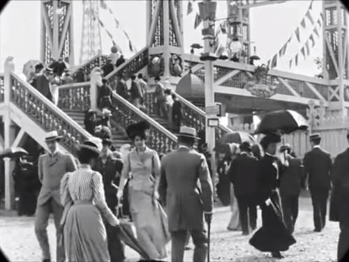 PARIS EN 1890. UNE PROMENADE  (Voyages)