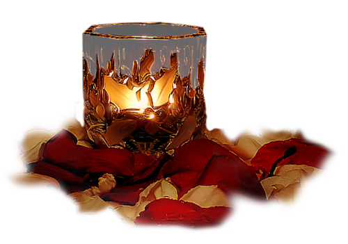 Tubes bougies en png