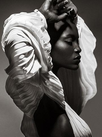 Un ange noir ...