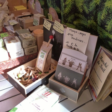 Le marché de Noël de l'abbaye de Chaalis 2014...herbatica