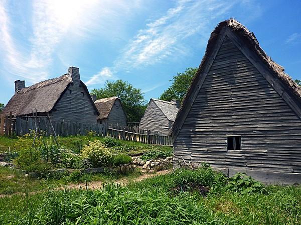 Plimoth Plantation village anglais b