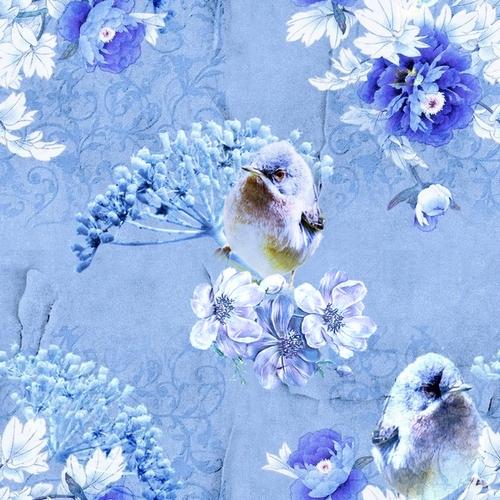 Textures sans bords, nature bleu vintage