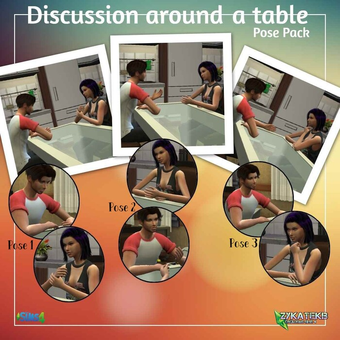 Discussion around a table