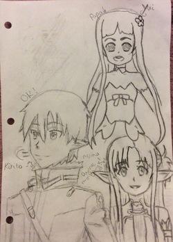 La famille à Alfeim Online de Kirito (SAO)