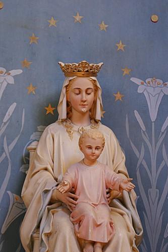 Transept sud Vierge à l'e,fant 03