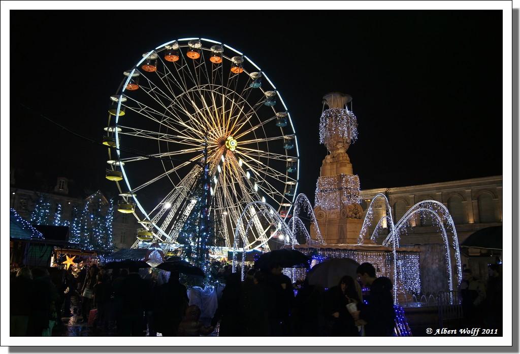 Marché de Noël à Besançon