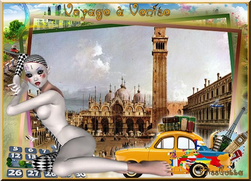 Défi pour amie Resoya (Voyage a Venise )