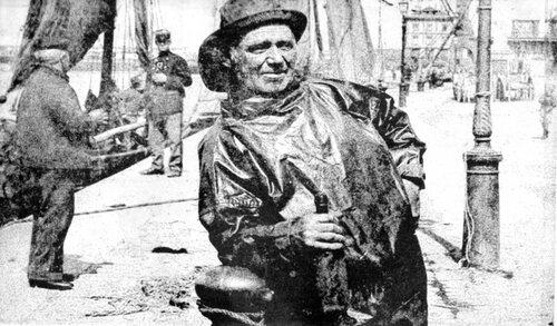 Cholardes et péqueux au Courgain Maritime