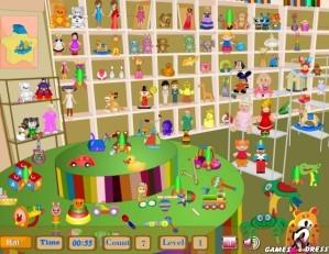 Children toy shop - Hidden objects