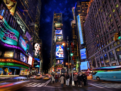 Time square ( New York )