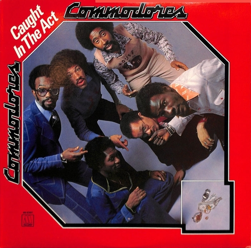 "The Commodores "" Caught In The Act "" Motown Records M6-820S1 [ US ]"