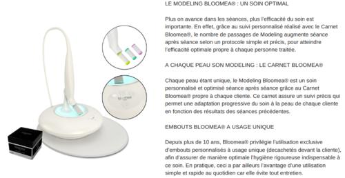 Test sérum Blooméa (Campagne Mon vanity idéal)