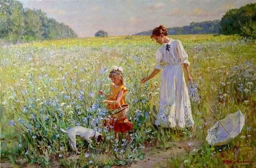 Peintures d'Alexander AVERIN