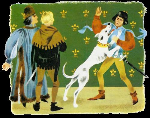 Le chien de Montargis (Chronique du XIVe siècle)