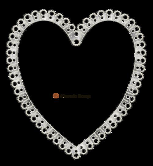 Cadres cœurs  2