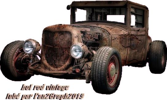 Hot rod vintage 2019