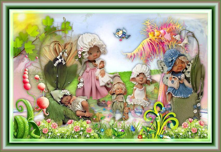 Tutoriel n°5 : printemps chez les trolls