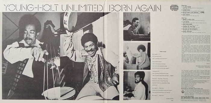 "The Young Holt Unlimited : Album "" Born Again "" Cotillion Records SD-18004 [ US ]"