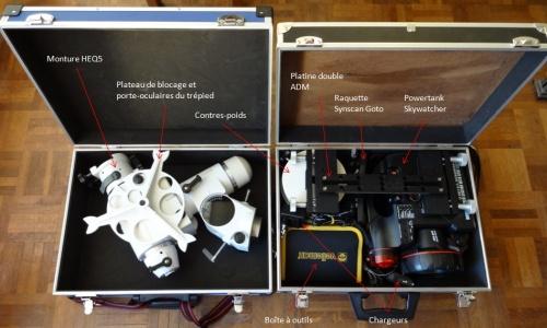 Juillet 2012 : Préparatifs pour la Corse !