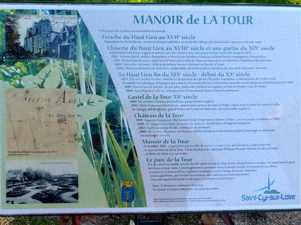 Le Manoir de la Tour ou Parc Littéraire 1.